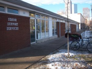 Located at 18th & Emerson - Denver's only day center for homeless and low income seniors.